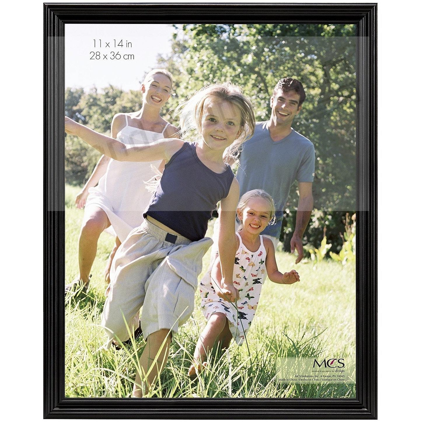 STYLE ONE Black solid wood wall frame from MCS®