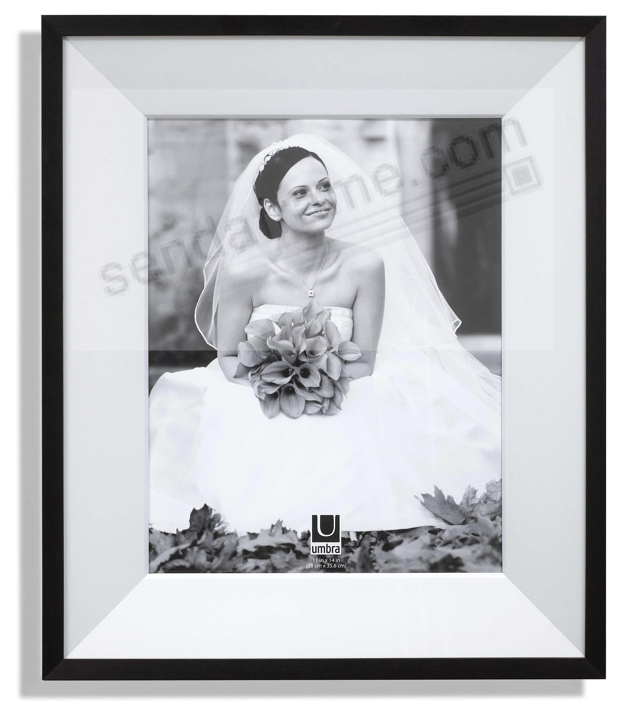 Madison Blacknickel Insert Frame For 16x20 Print By Umbra Picture