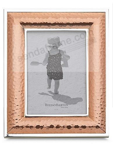DORSEY 5x7 Hammered Copper finish by Reed & Barton - Picture Frames ...