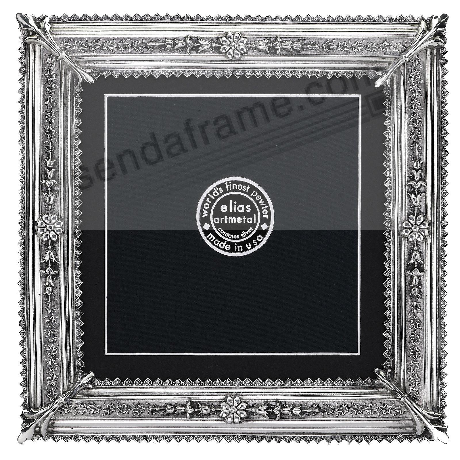 Proof-size Fine Pewter ROYALE 5x5/4x4 frame by Elias Artmetal®