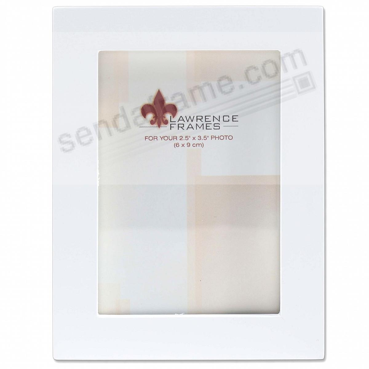 White square-corner frame by Lawrence®