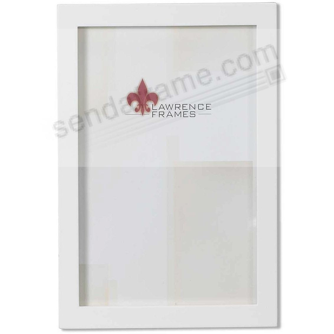 White Square-corner 4x6 frame by Lawrence®