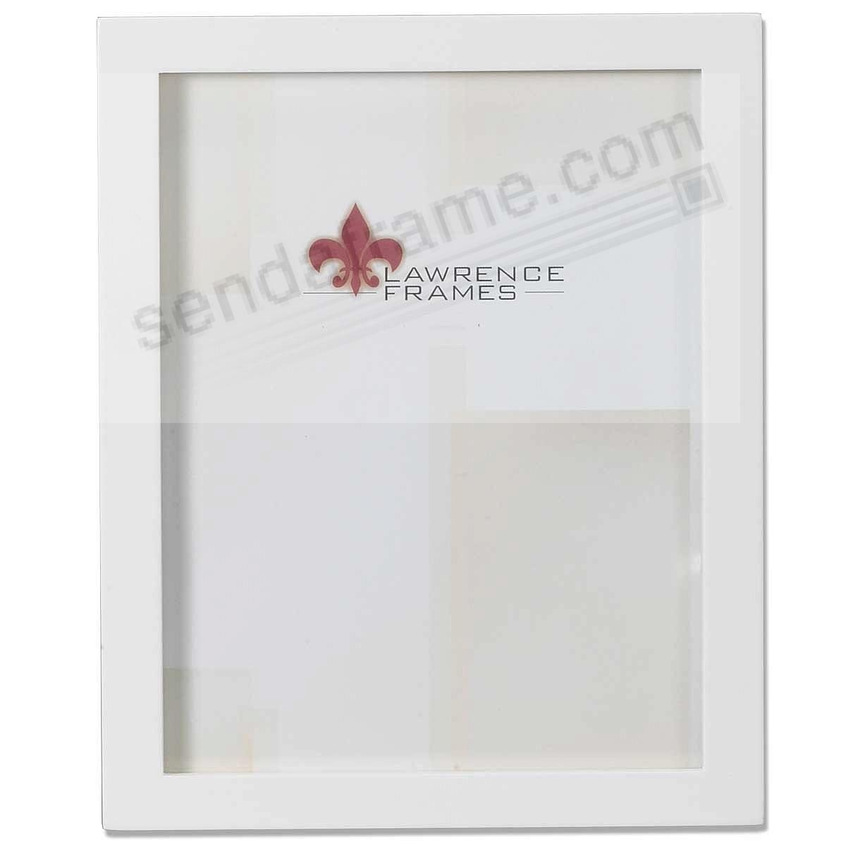 White square-corner 8x10 frame by Lawrence®