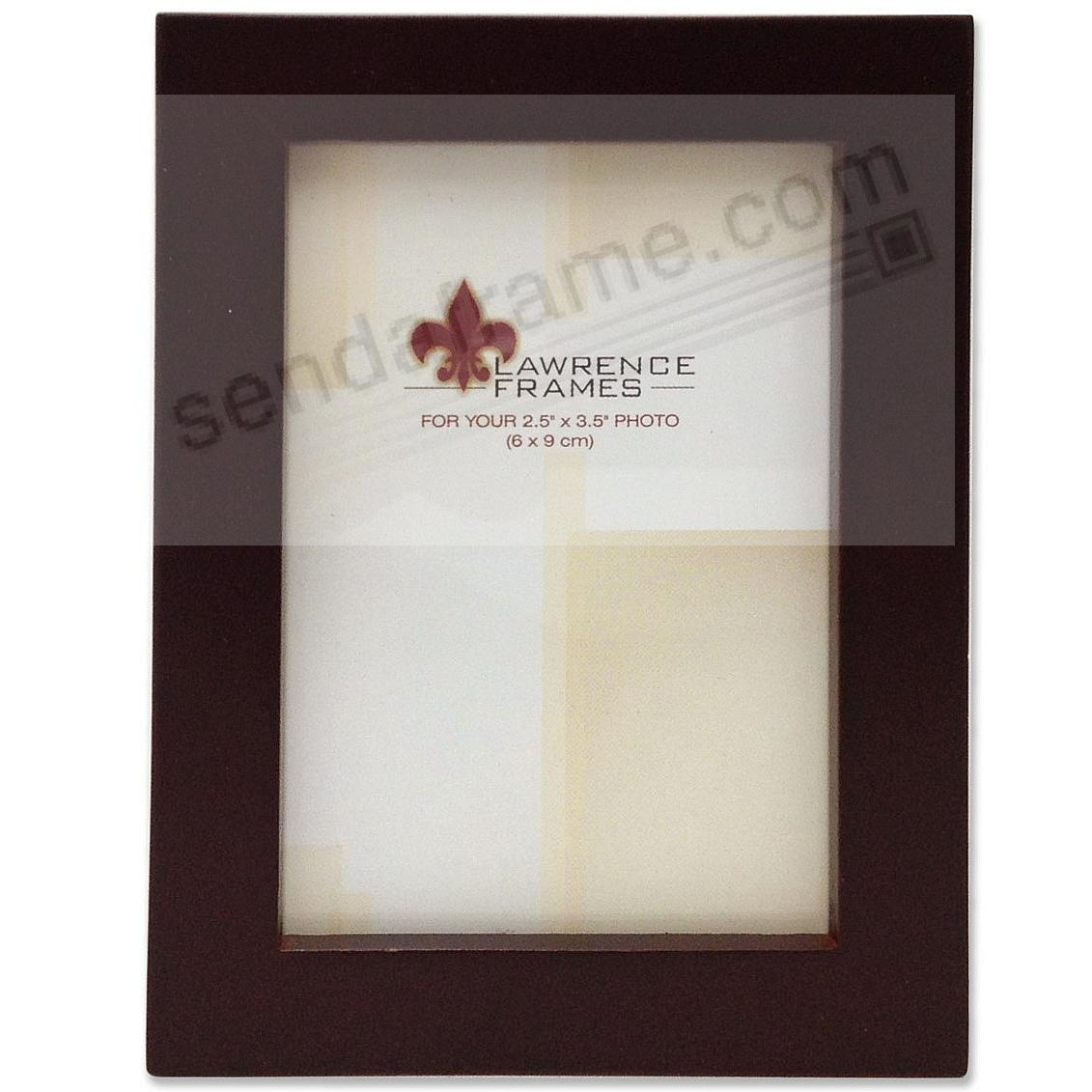 ESPRESSO square-corner frame by Lawrence®