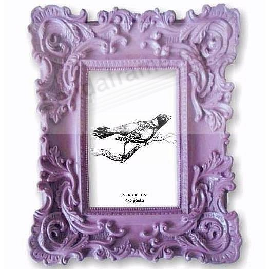 ORCHID-PURPLE BAROQUE frame by SIXTREES® - Picture Frames, Photo ...