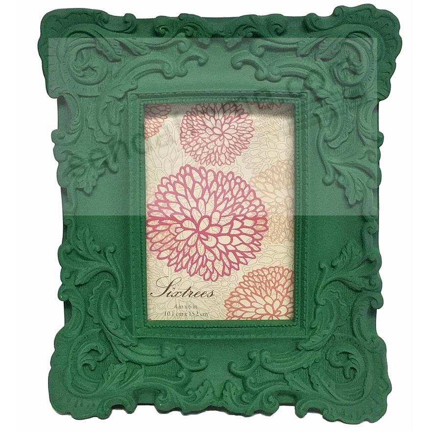 TURQUOISE-GREEN BAROQUE frame by SIXTREES® - Picture Frames, Photo ...