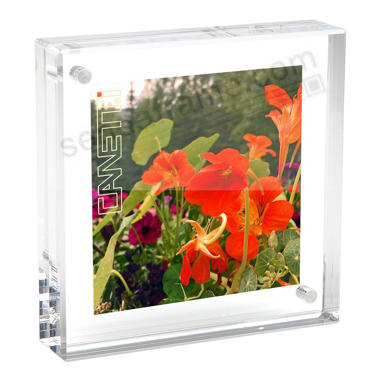 The original acrylic museum MAGNET FRAME<br>by Canetti&reg; - now in 6x6 size