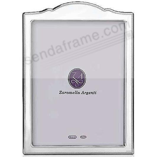 MADRID Scallop Top fine Sterling Silver polished frame by Zaramella Argenti®
