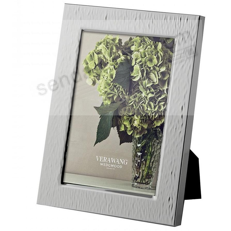HAMMERED 4x6 Silver frame by Vera Wang® - Picture Frames, Photo ...