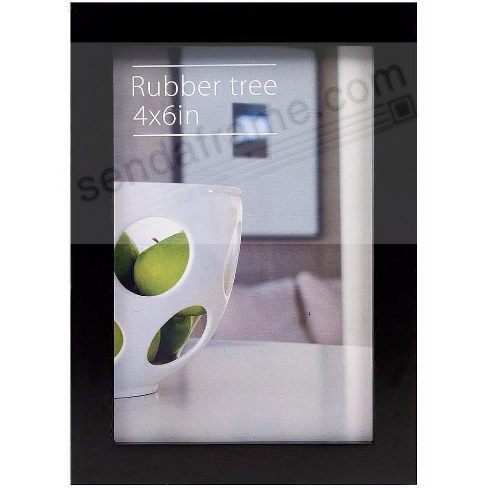 CONTEMPORARY Rubberwood Black 4x6 frame by EcoCare®