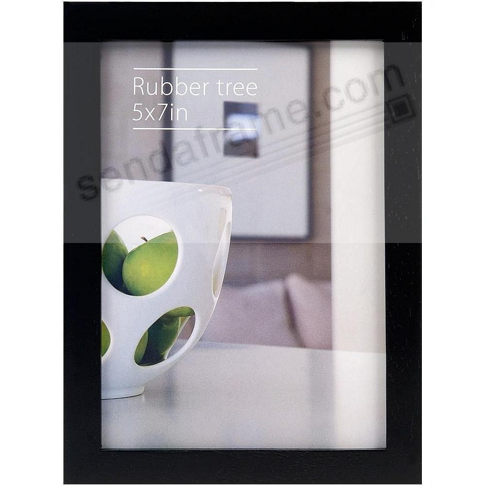 CONTEMPORARY Rubberwood Black 5x7 frame by EcoCare®