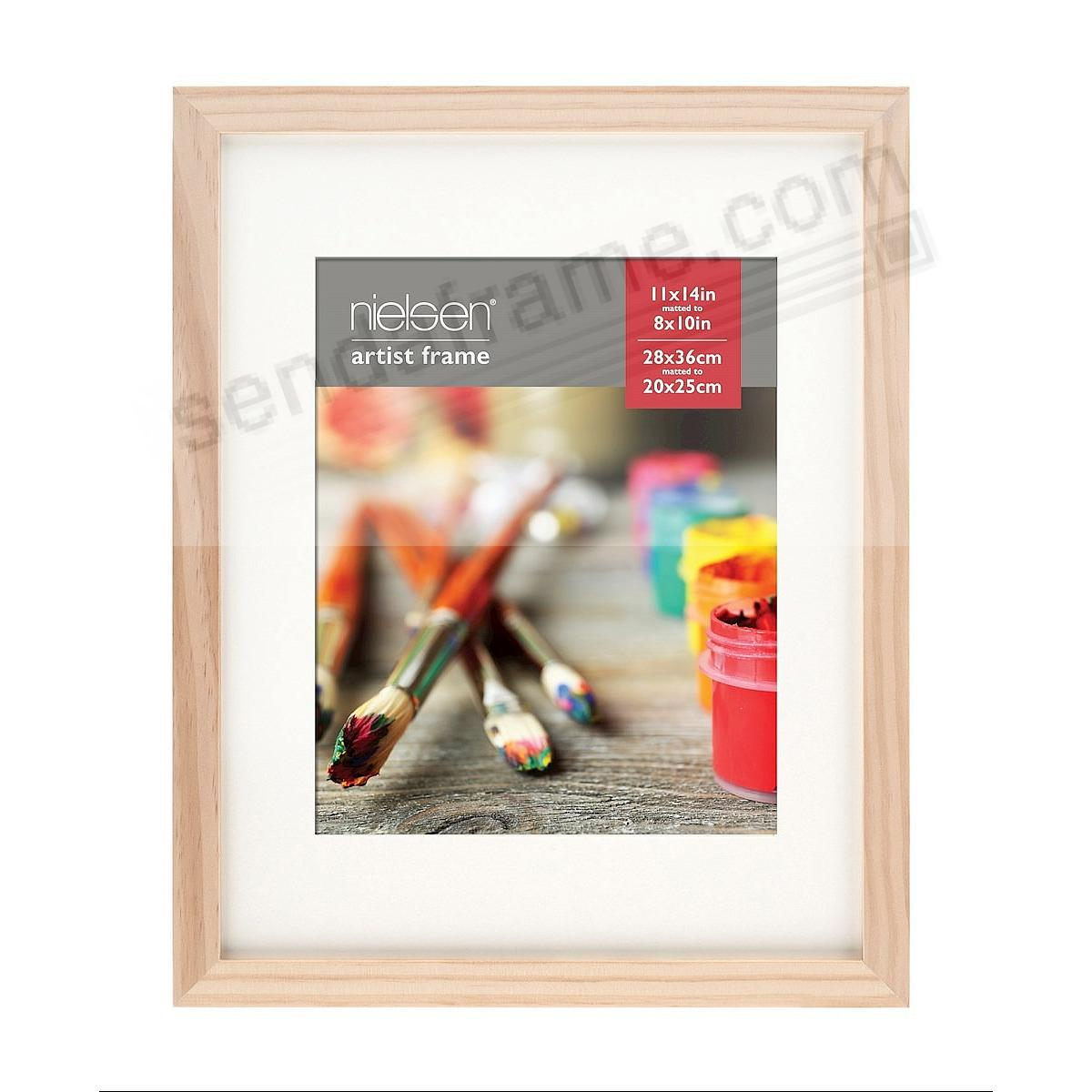 Ash Natural GALLERY-CANVAS DEPTH matted wood frame 11x14/8x10 by Nielsen-Bainbridge®