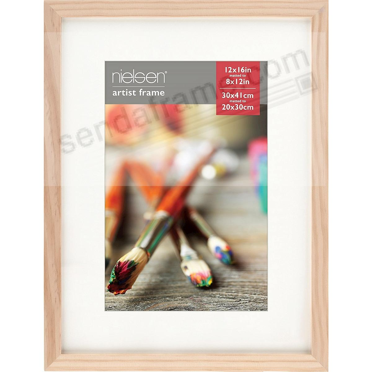 ash natural gallery canvas depth matted wood frame 12x168x12 by nielsen bainbridge