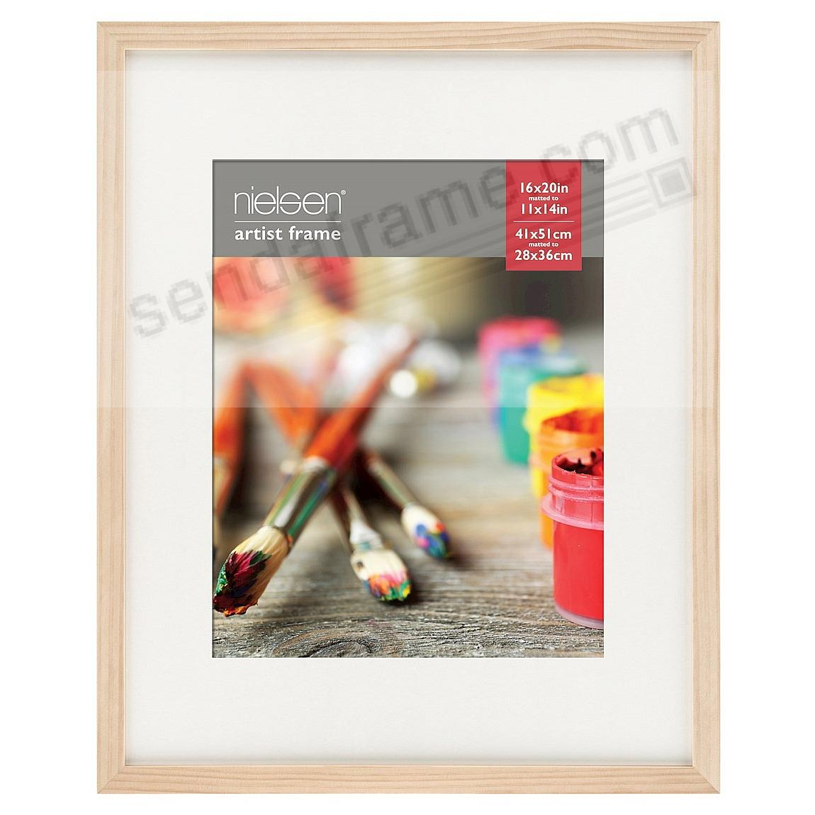 Ash Natural GALLERY-CANVAS DEPTH matted wood frame 16x20/11x14 by ...