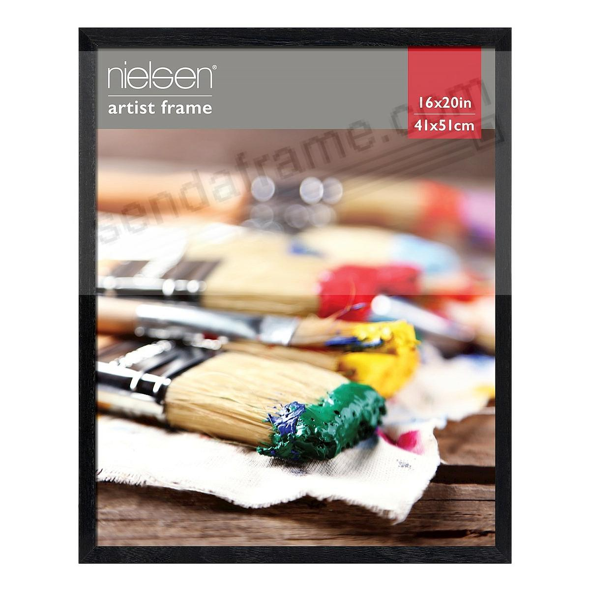 Black ROYAL fine wood 16x20 poster frame by Nielsen®