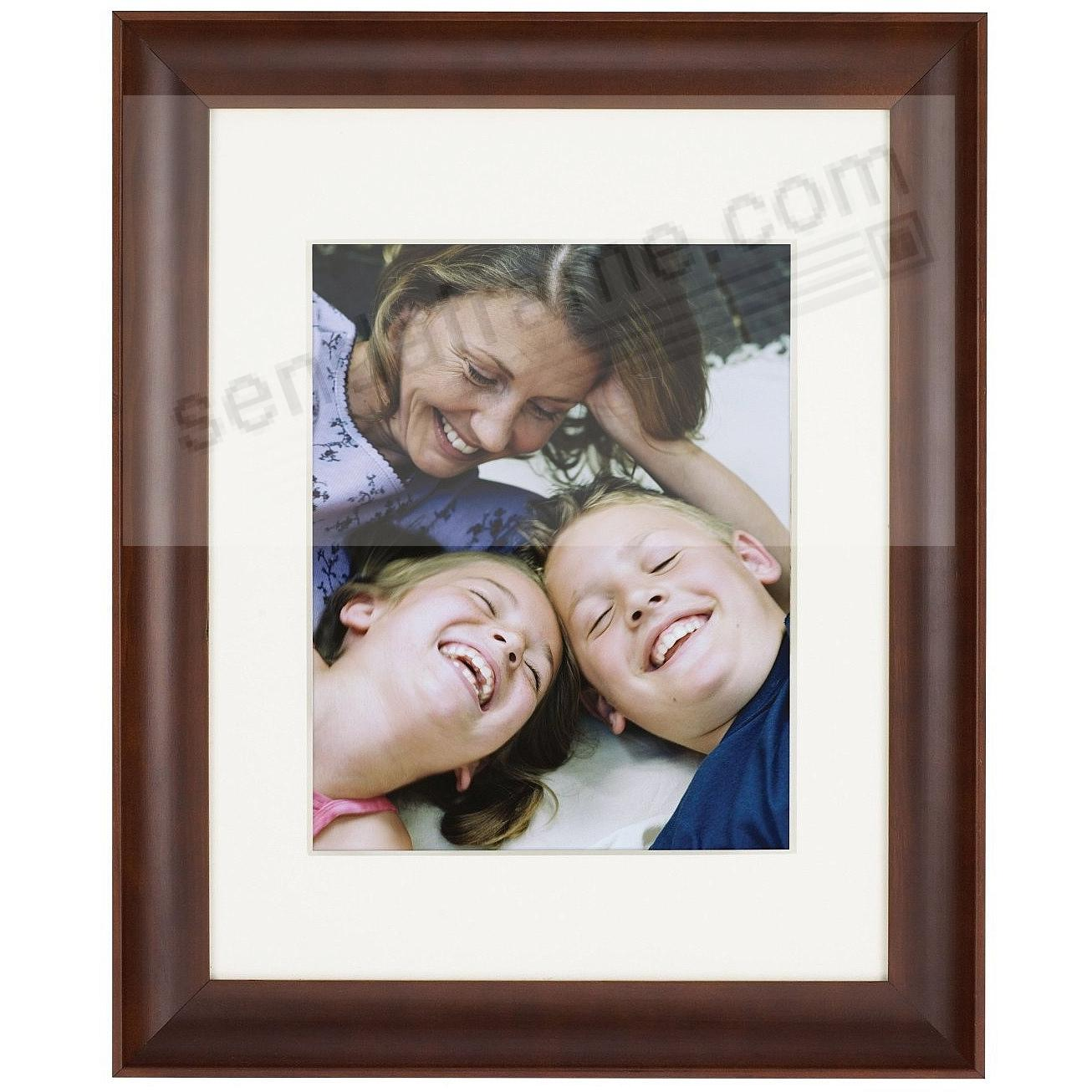 Walnut FAMILY matted scoop profile wood frame 11x14/16x20 from ...
