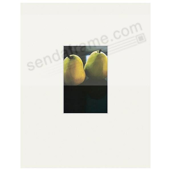 Nielsen Bainbridge® 11x14/4x6 Mat Classic in Bright-White - Picture ...