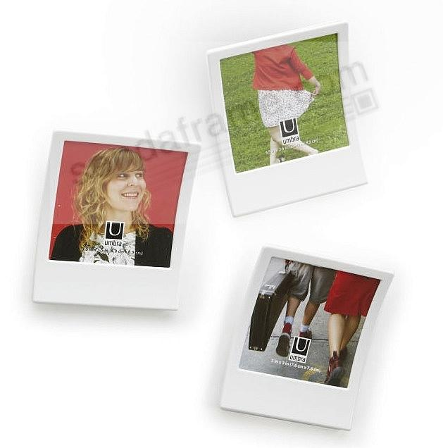 SNAP polaroid inspired white frame (set of 2) by Umbra® - Picture ...