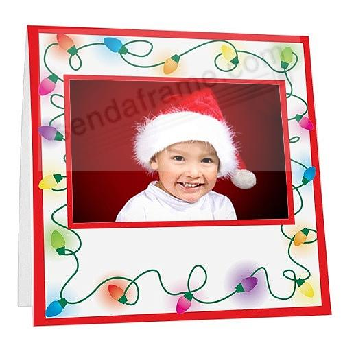 Fuji Instax™ Holiday Lights Lightweight Paper Frame