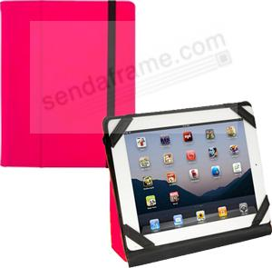 iPad® Folding Case in Italian HOT-PINK NEON by Graphic Image™