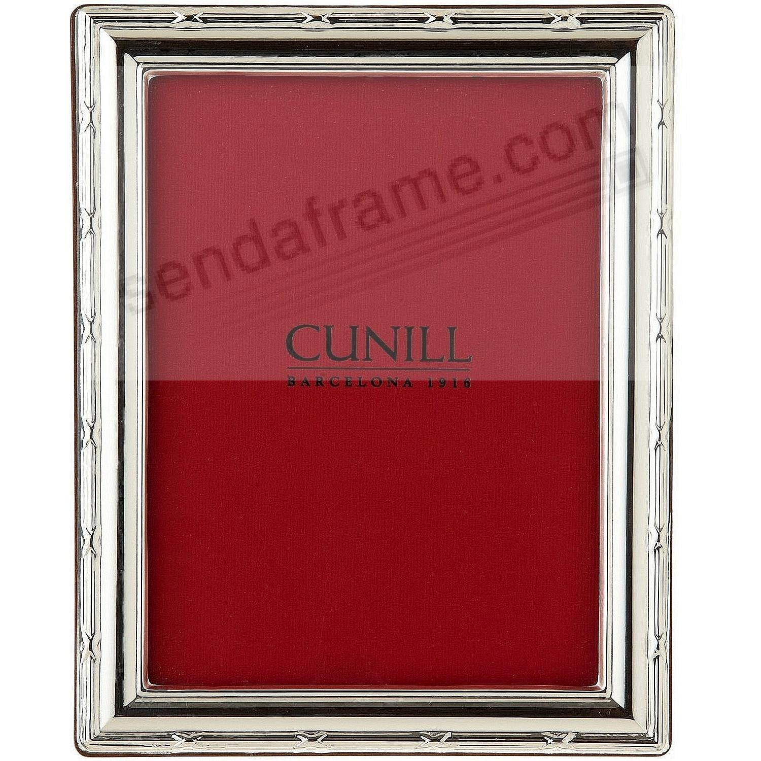 REED & RIBBON .925 Fine Sterling Silver by Cunill® - Picture Frames ...