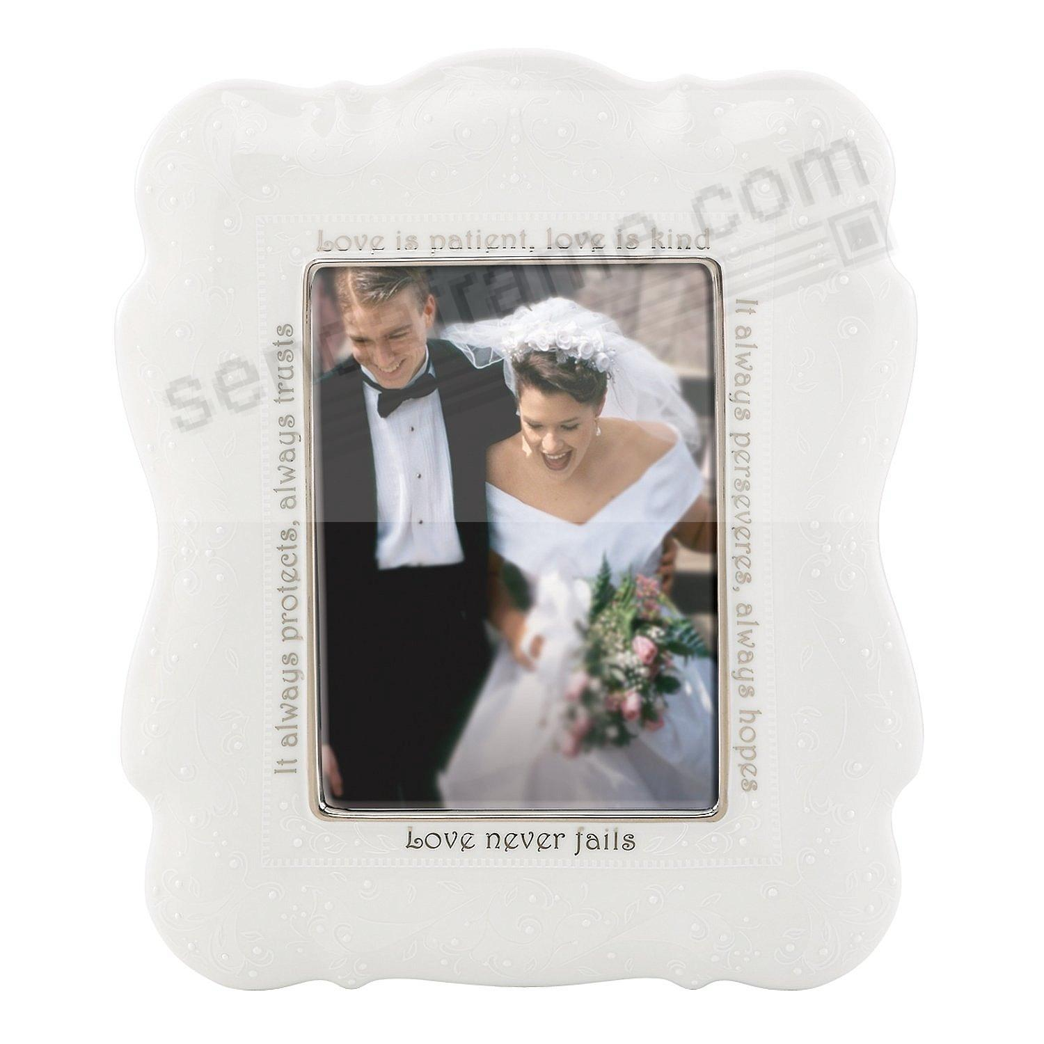 OPAL INNOCENCE 5x7 LOVE IS... Frame by Lenox® fine china