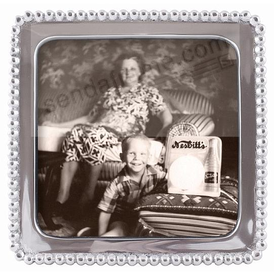 The Original Beaded Square For 5x5 Photos Crafted By Mariposa