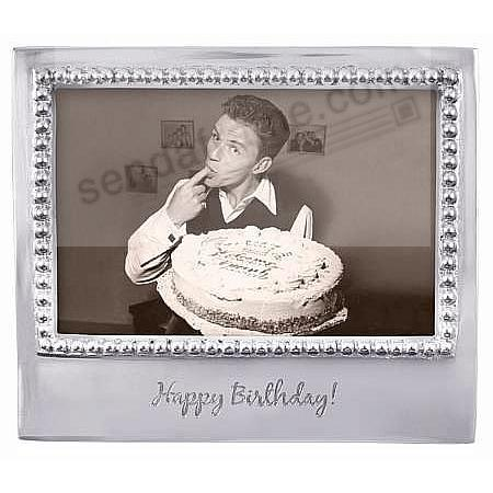 The original HAPPY BIRTHDAY Statement frame for 6x4 prints crafted by Mariposa®