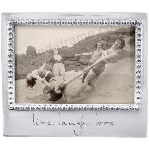 The original LIVE - LAUGH - LOVE frame crafted by Mariposa®