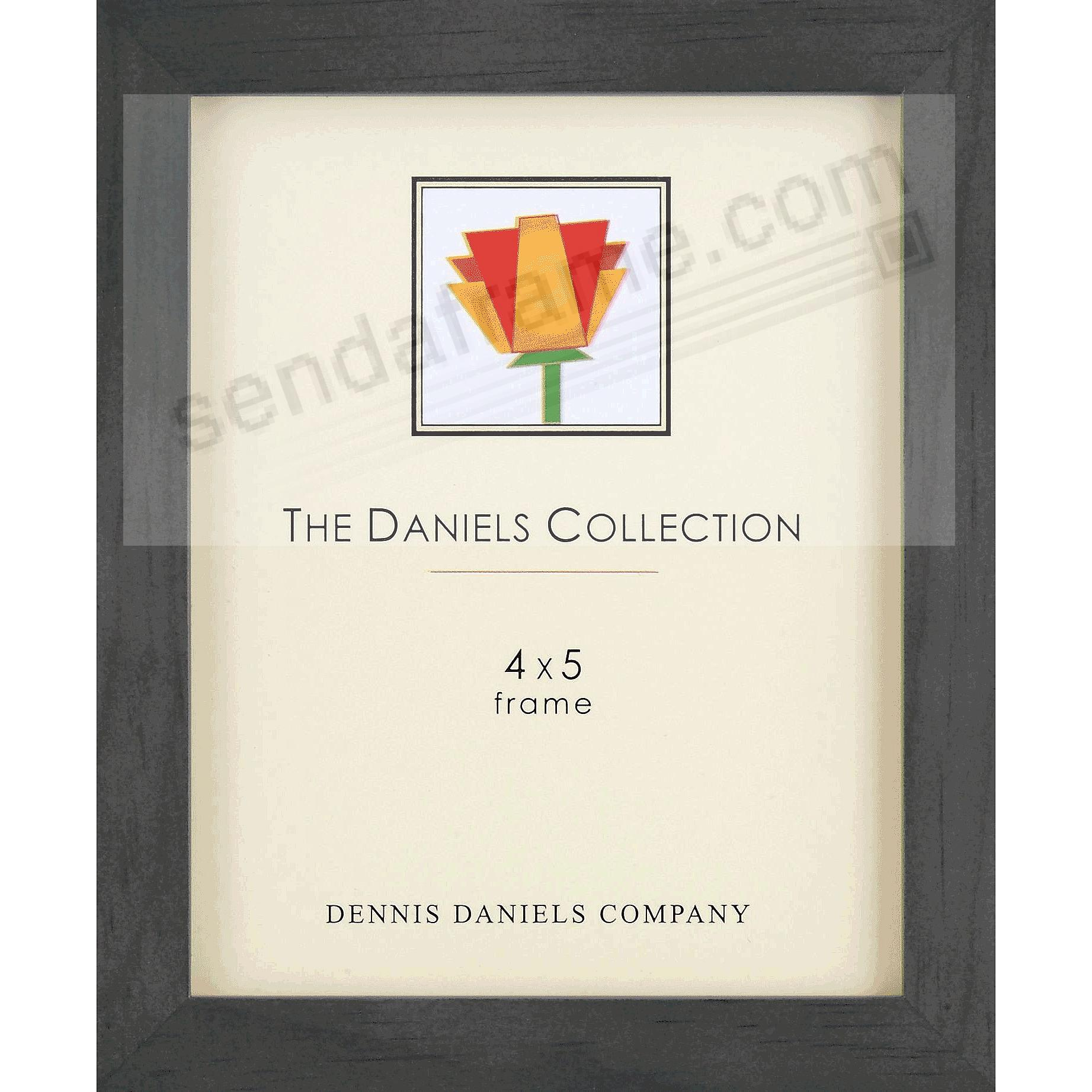 The Original DANIELS W41: Black Square Corner 4x5 GALLERY WOODS frame by Dennis Daniels®