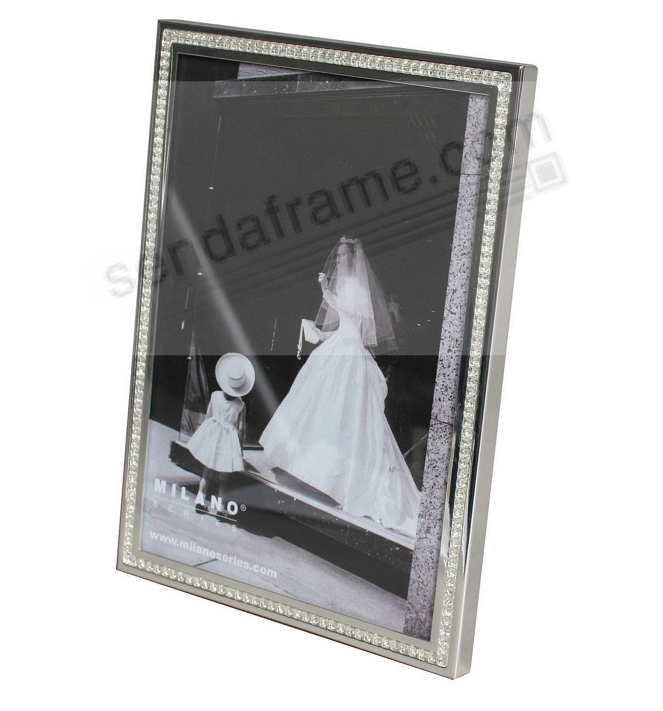 SPARKLE Crystal + Silver frame by Milano Series® - Picture Frames ...