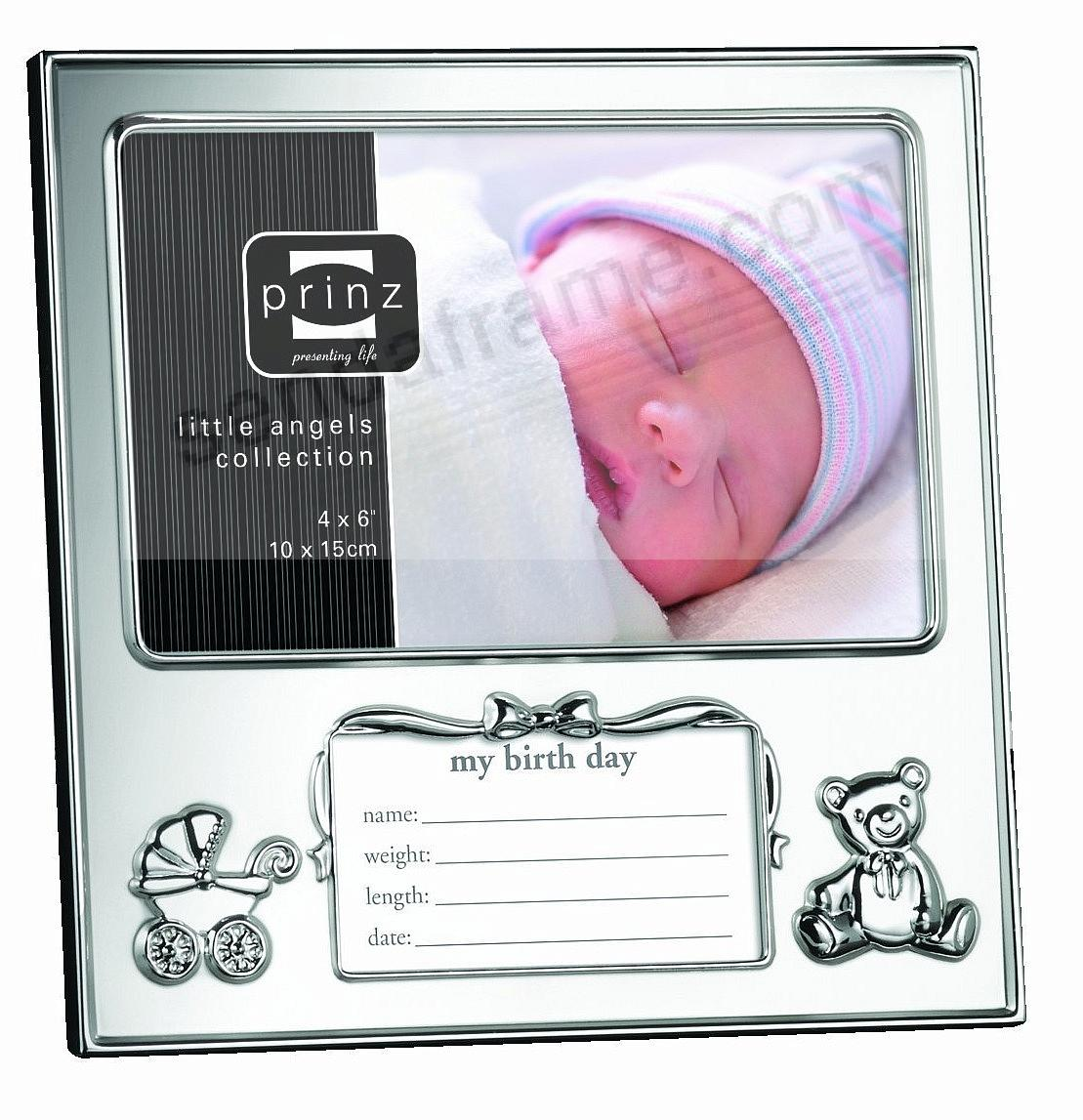 JUST ARRIVED: Newborn Birth Record frame by Prinz® - Picture Frames ...