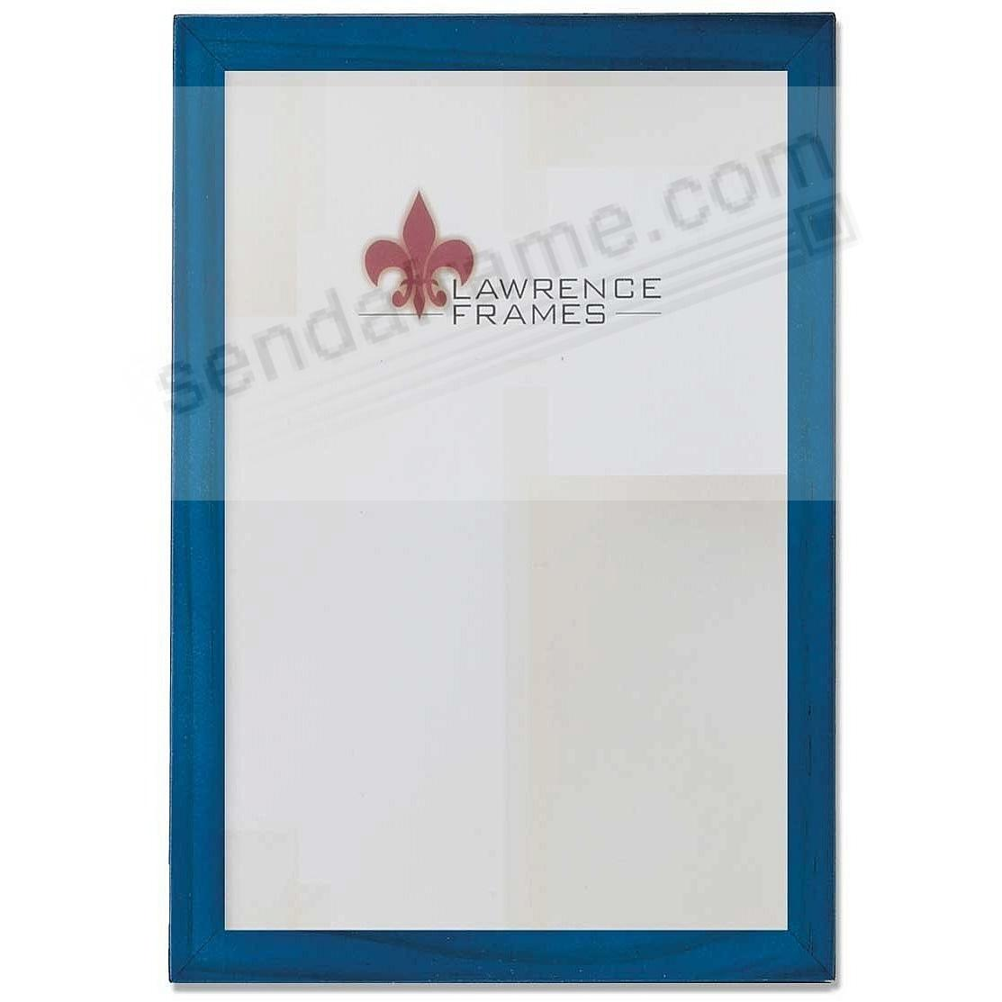 BLUE square-corner 8x12 frame by Lawrence®