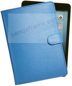 The iPad Mini® Slim Blue Leather Case by Graphic Image™