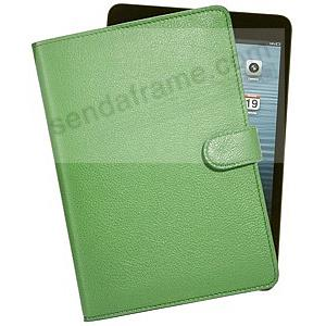 The iPad Mini® Slim Green Leather Case by Graphic Image™