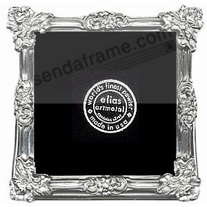 IMPERIAL Fine Pewter 5x5 Proof size by Elias Artmetal®