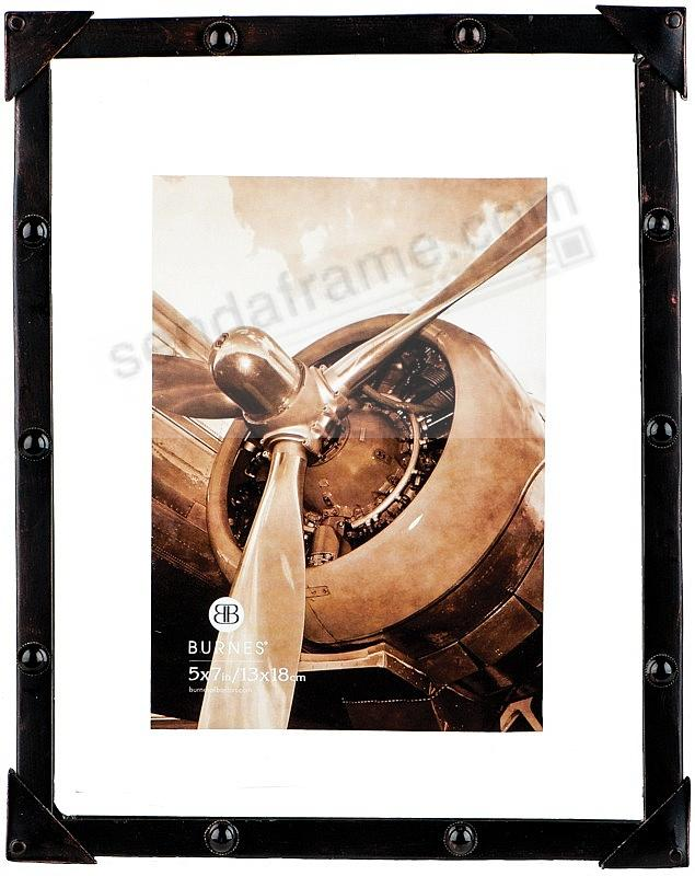 industrial float 5x7 frame by burnes of boston