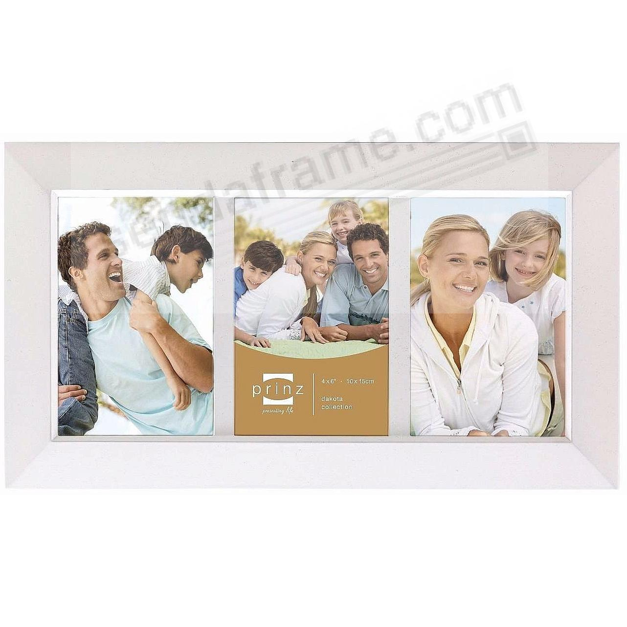 DAKOTA White 3-opening collage frame from Prinz® - Picture Frames ...