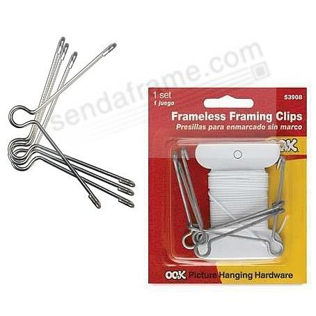 OOK® Frameless Framing Clips