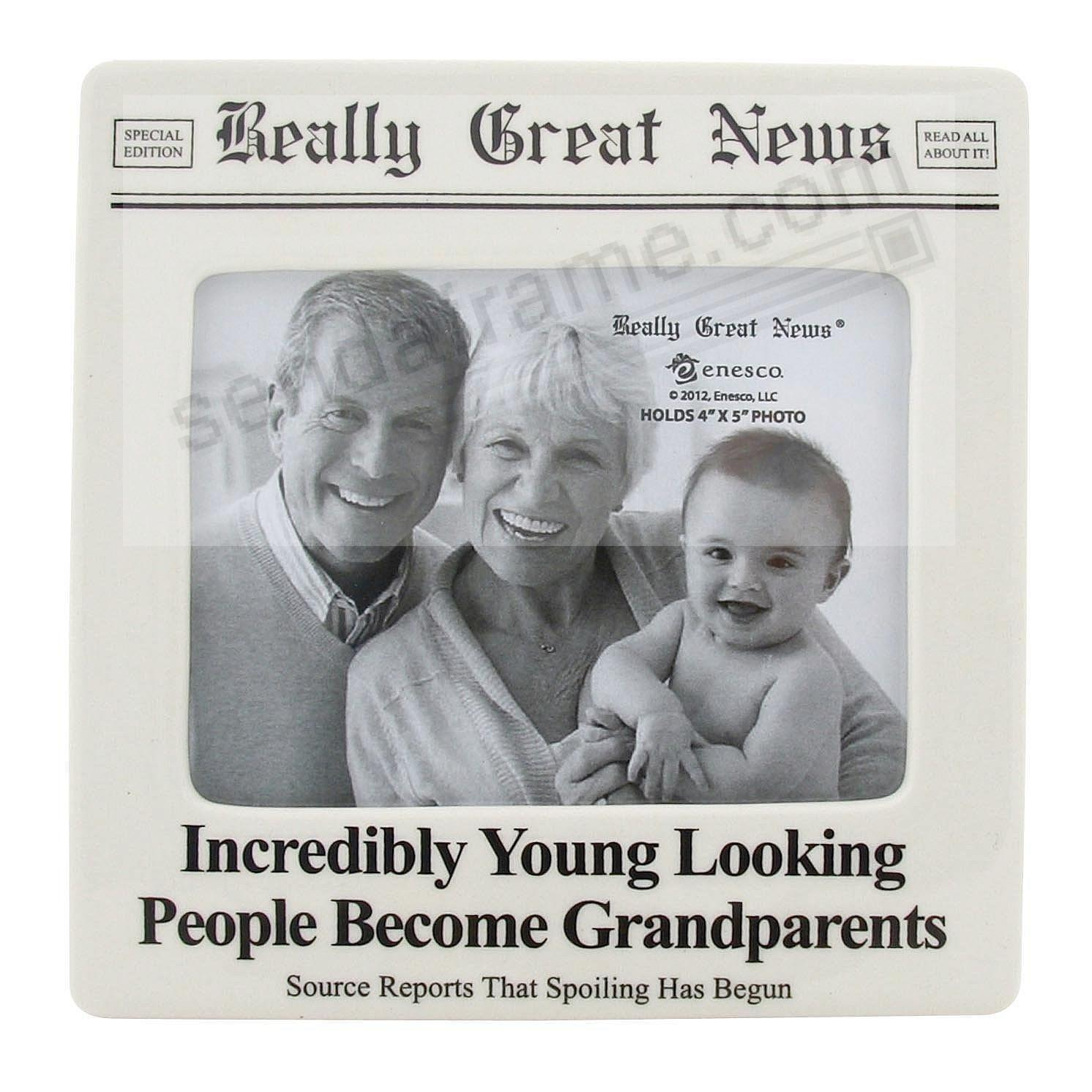 GRANDPARENTS frame<br>by Really Great News&reg;
