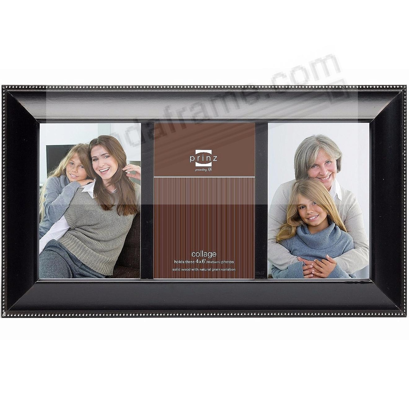 MANDALAY BLACK COLLAGE frame for 3 - 4x6 prints by Prinz®