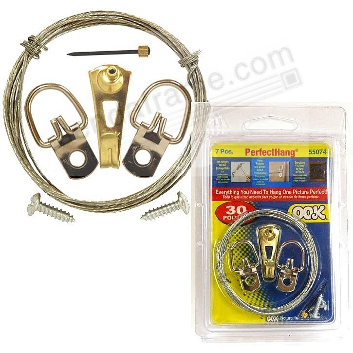 Ook 174 Professional Hanging 7 Piece Value Pack Kit For Up To