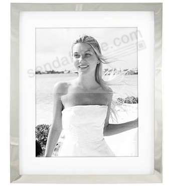 Matted SILVER METAL SHADOW 8x10/10x12 frame by Malden - Picture ...