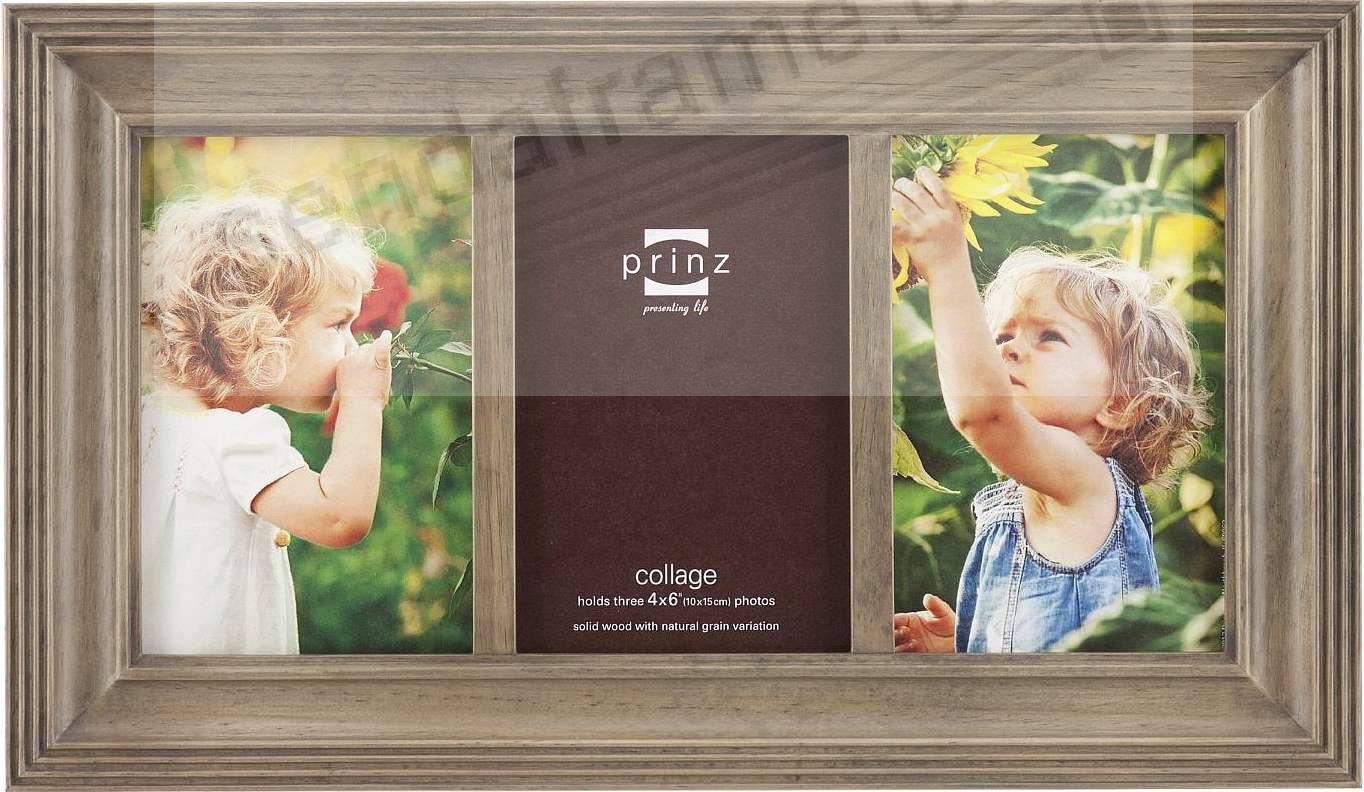 Eastman taupe ridged collage frame holds 3 4x6 prints from prinz eastman taupe ridged collage frame holds 3 4x6 prints from prinz jeuxipadfo Gallery