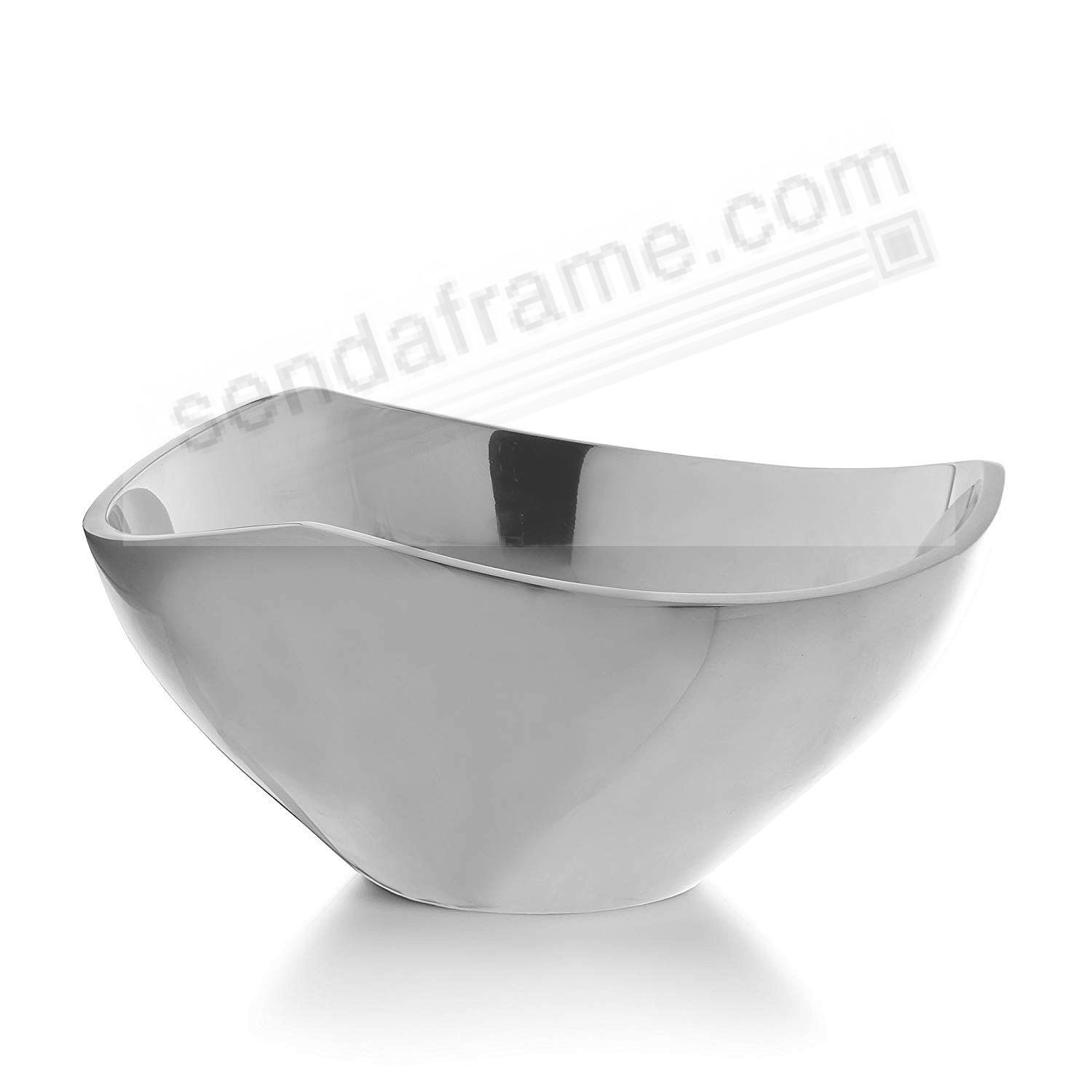 The Original TRI-CORNER BOWL 3-qt/11-Inch crafted by Nambe®