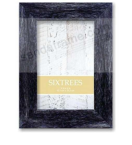 SHABBY CHARCOAL Collection Piece in Parchment-Stain Wood by Sixtrees®