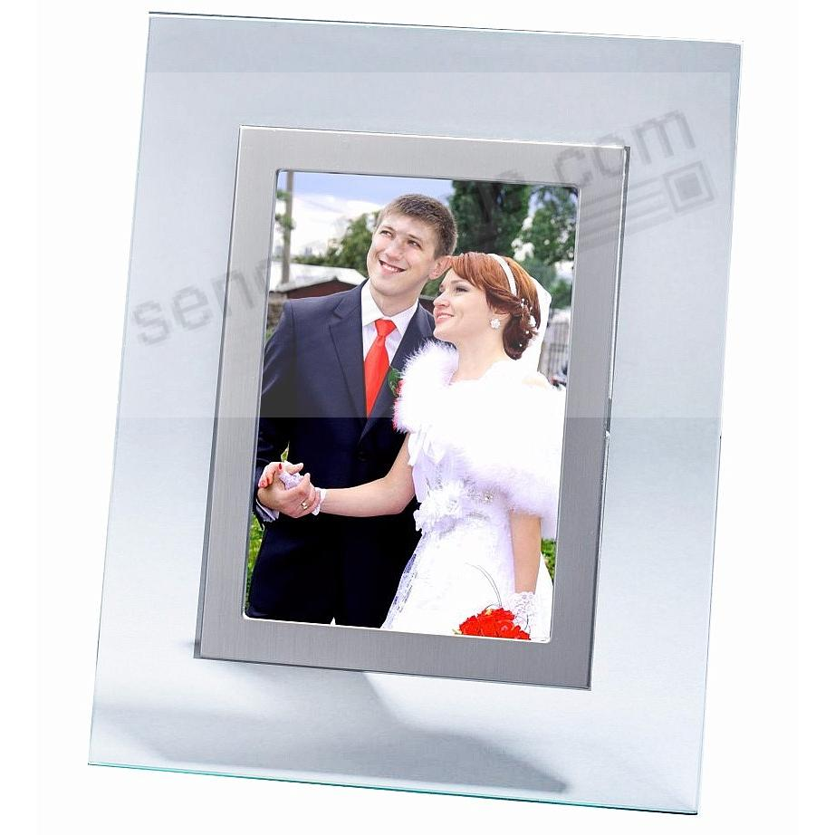 Glass and Silver Float frame