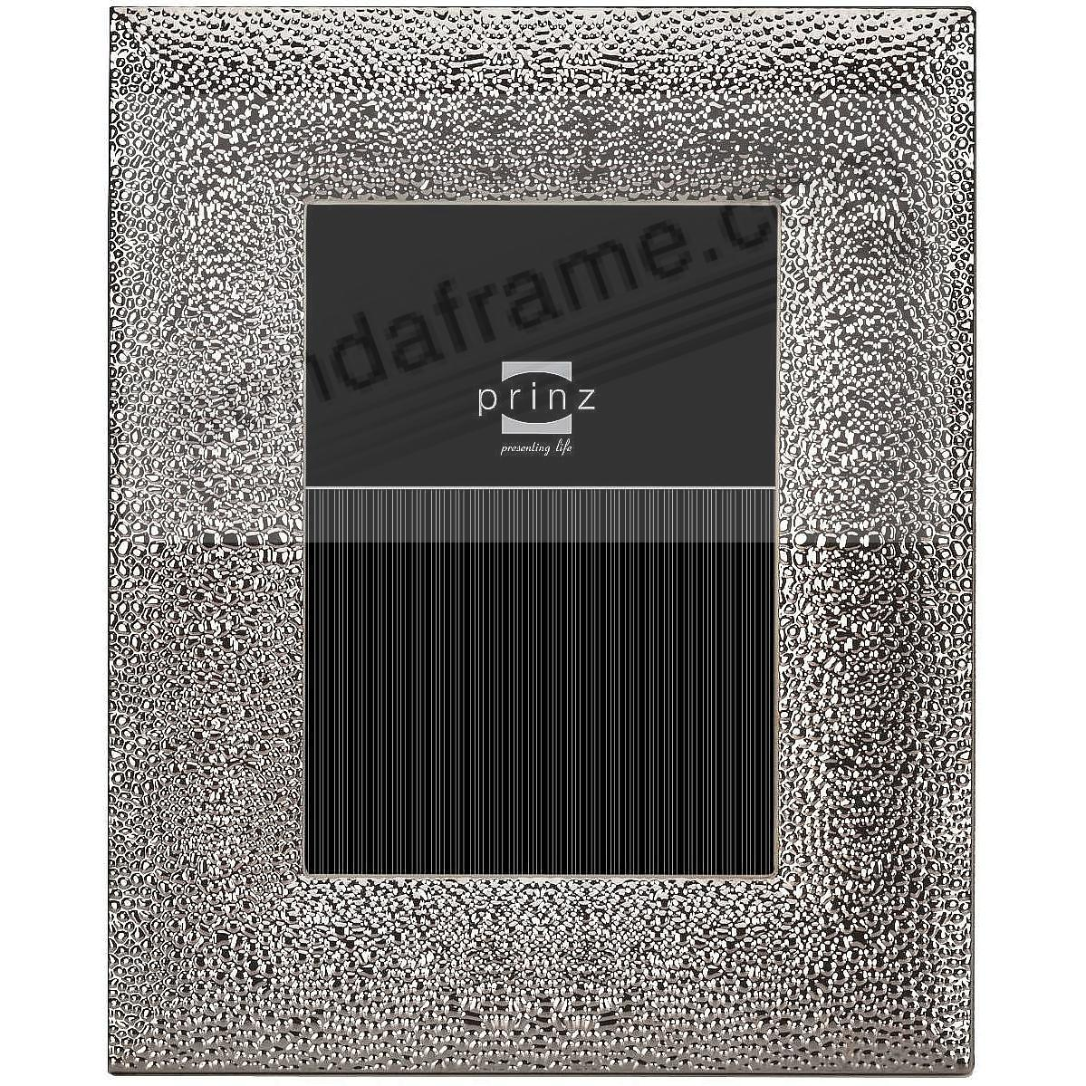 SALINAS Silver Pebbled finish metallic 5x7 frame by Prinz - Picture ...
