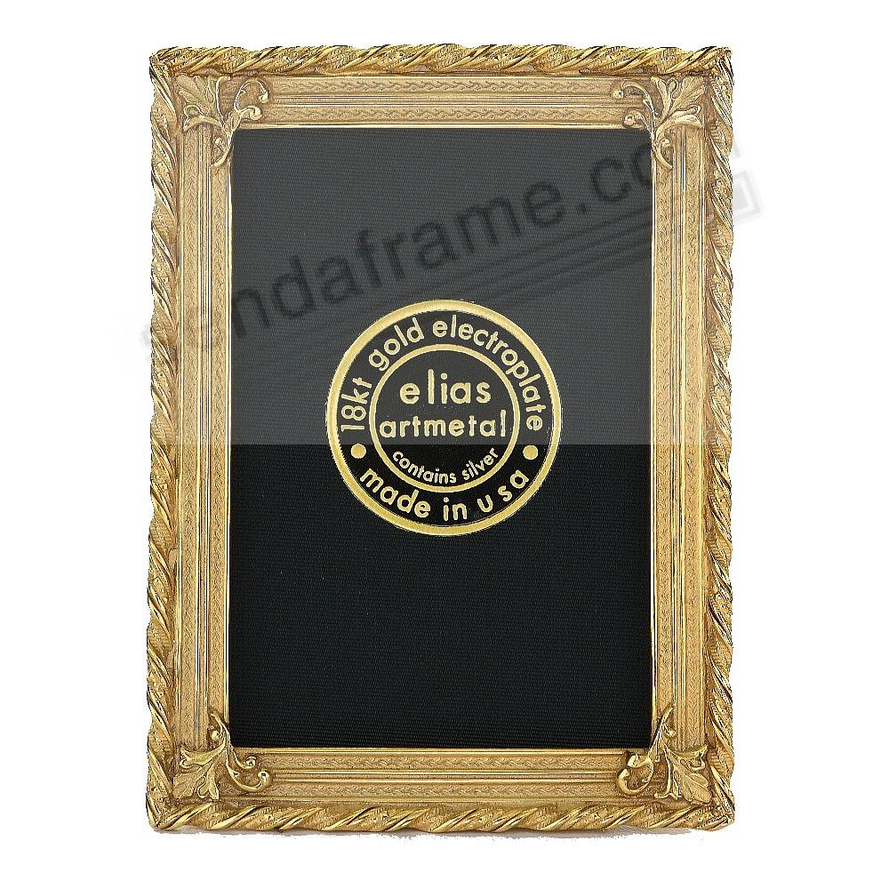 EMPIRE 18kt Museum Gold over fine Pewter 2½x3½ by Elias Artmetal®
