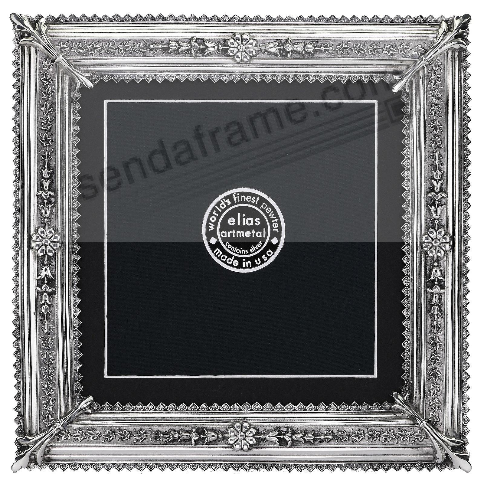 Proof-size Fine Pewter ROYALE 8x8/7½x7½ frame by Elias Artmetal®